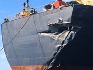 REBUILDING 11,000 KG OF TRANSOM STRUCTURE OF A PANAMAX TANKER AT CRISTOBAL